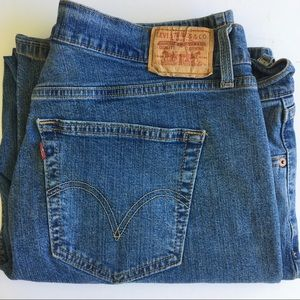 LEVI'S 550 Relaxed Bootcut Jeans. Size 20S